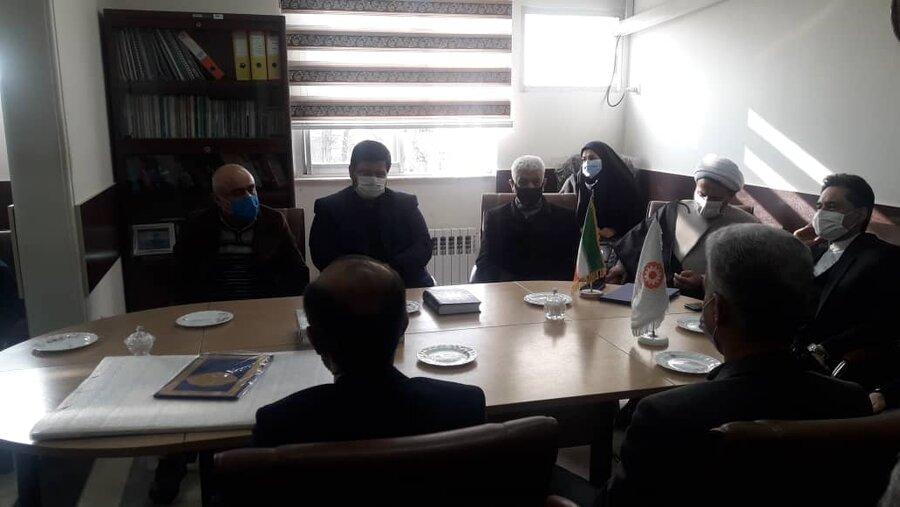 دیدار صمیمانه مدیرکل بهزیستی گیلان با همکاران اداره بهزیستی آستانه اشرفیه