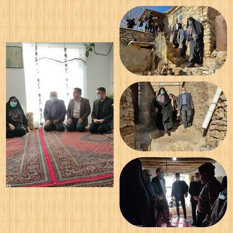 دیدار صمیمانه مدیر کل بهزیستی کردستان و نماینده مجلس با خانواده های بیماران روانی