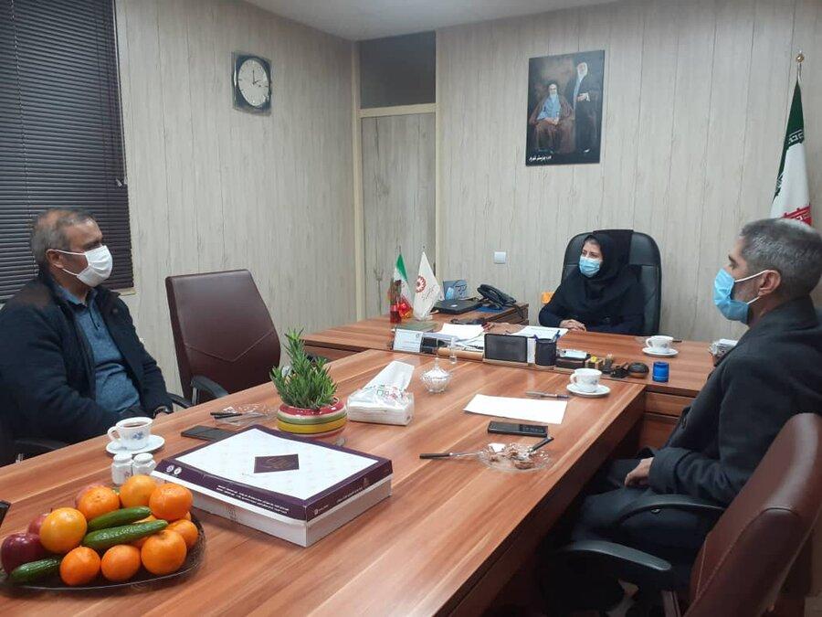 شهریار| برپایی جلسه شورای مشارکت های مردمی