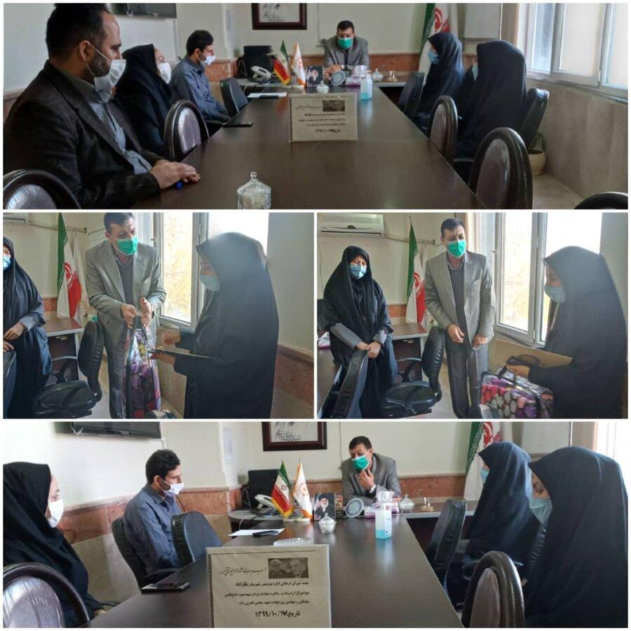 نظرآباد | جلسه شورای فرهنگی در اداره بهزیستی نظرآباد برگزار شد