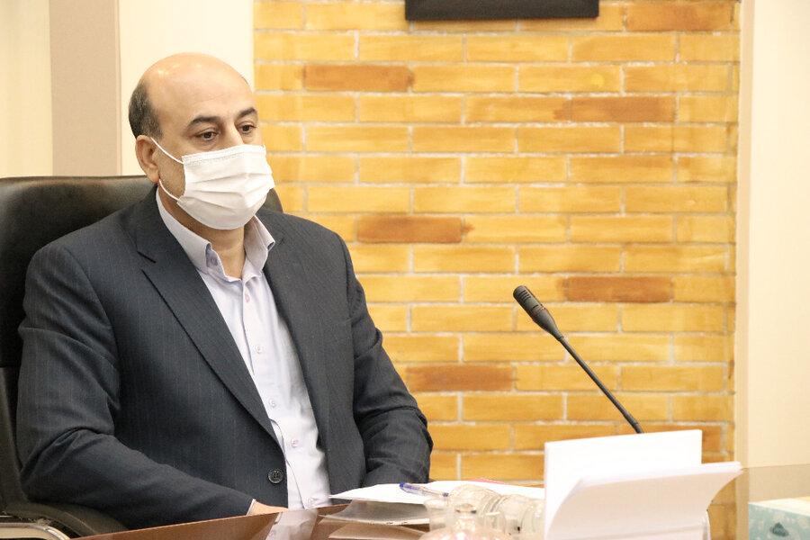 نشست شورای هماهنگی مدیران کل دستگاههای زیر مجموعه وزارت رفاه با استاندار کرمان