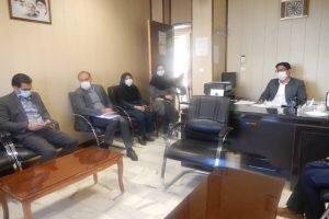 بازدید فرماندار بافت از اداره بهزیستی این شهرستان ودیدار با رییس وپرسنل این اداره