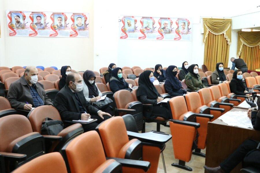 برگزاری جلسه آموزشی سامانه تصمیم ویژه کارشناسان مسئول حوزه پیشگیری