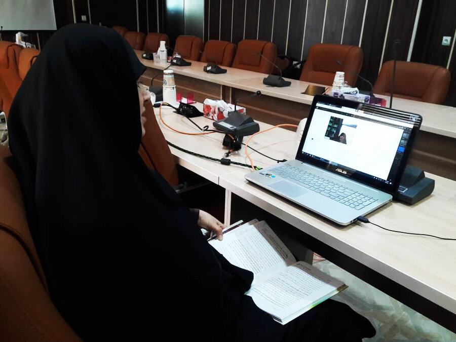 """برگزاری وبینار آموزشی تحت عنوان"""" شرح خطبه حضرت فاطمه زهرا (س)"""""""