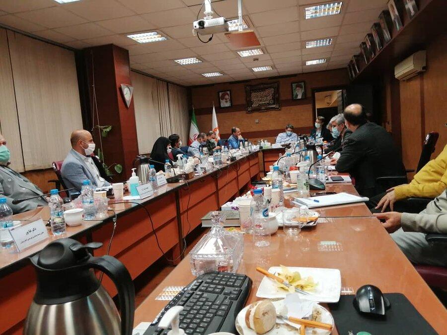 نشست مشترک شورای معاونین بهزیستی کشور و استان تهران برگزار شد