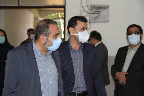 بازدید مدیرکل بهزستی فارس از مراکز تحت نظارت