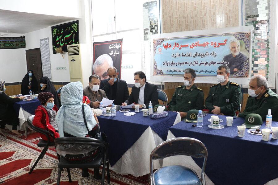 """برگزاری اردوی جهادی سردار دلها """" سپهبد شهید حاج قاسم سلیمانی """""""