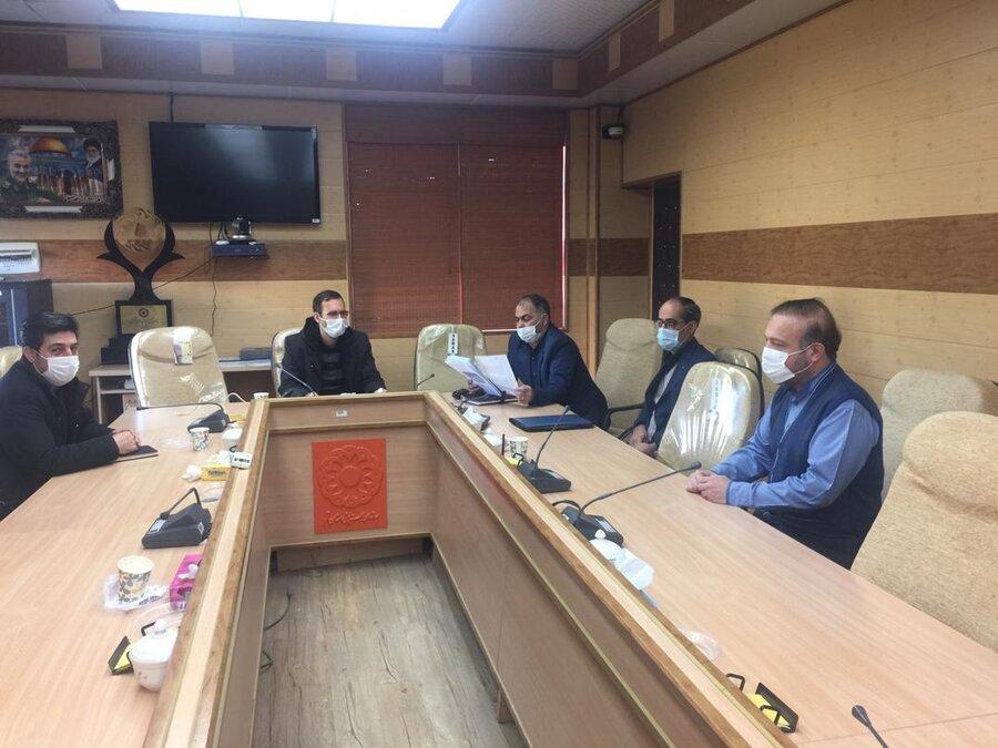 اولین جلسه کارگروه فرعی تدوین برنامه هفتم توسعه در بهزیستی قم برگزار شد
