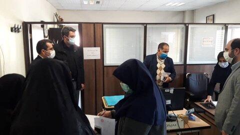 بازدید معاون امور اجتماعی بهزیستی کشور از اورژانس اجتماعی بهارستان