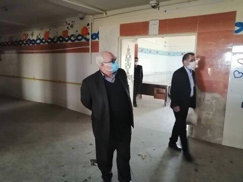 بازدید معاون پیشگیری بهزیستی کشور از ساختمان ایثار ورامین