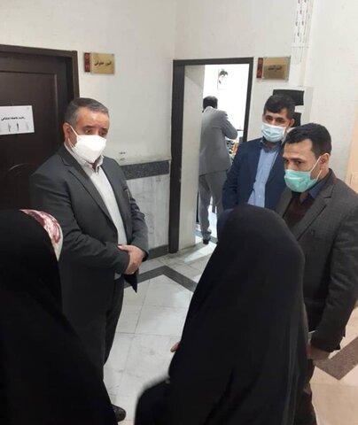 مشهد | بازدید سرزده فرماندار مشهد از بهزیستی این شهرستان