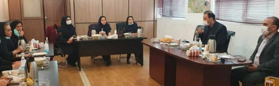 برپایی چهارمین جلسه case report در محل ستاد اورژانس اجتماعی تهران