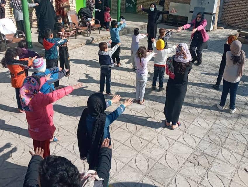 قرچک برپایی طرح نشاط اجتماعی در روستای امین آباد