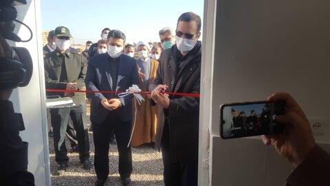 افتتاح ساختمان جدید کمپ پاکان کوثر قم