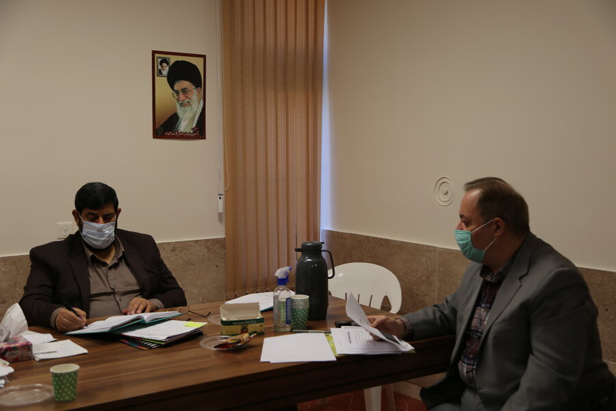 دیدار مدیر کل بهزیستی مازندران با نماینده مردم شریف شهرستان بابل در مجلس شورای اسلامی