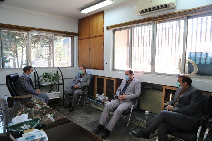 دیدار مدیرکل بهزیستی با مدیرکل امور شهری و شوراها استانداری