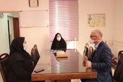 گزارش تصویری | دیدار مدیرکل بهزیستی استان با همکاران شهرستان سمنان
