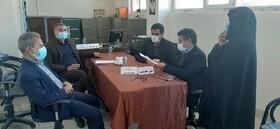 حضور دکتر عرب نژاد مدیر کل بهزیستی استان در طرح میز خدمت شهرستان فردوس