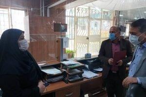 دیدار رییس بهزیستی رفسنجان با ریاست و کارکنان ثبت احوال شهرستان رفسنجان