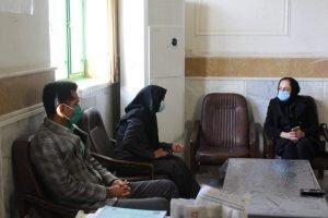 نشست روسای اداره بهزیستی وآموزش فنی وحرفه ای شهرستان جیرفت