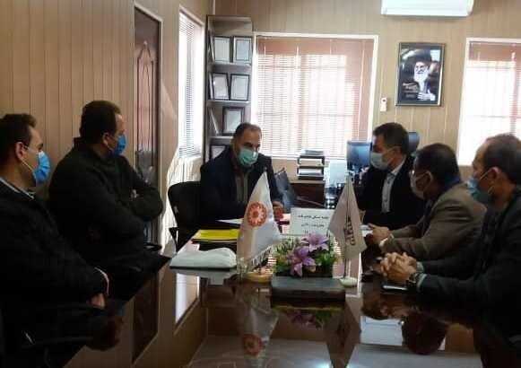 رامسر | عقد قرارداد ساخت مسکن محرومین با موسسه تامین مسکن بسیجیان مازندران
