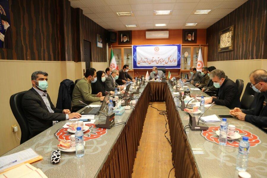 با حضور دکتر گوهردهی؛  بیست و یکمین جلسه شورای معاونین بهزیستی استان برگزار شد