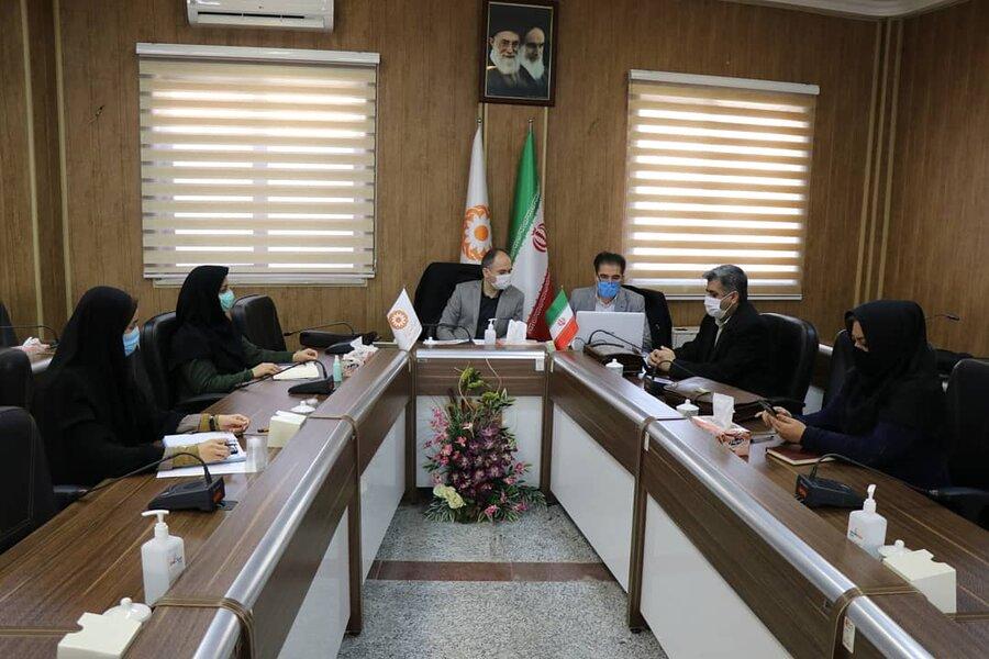 برگزاری وبینار آموزشی در خصوص مالیات بر موسسات خیریه غیر انتفاعی و انتفاعی بهزیستی استان