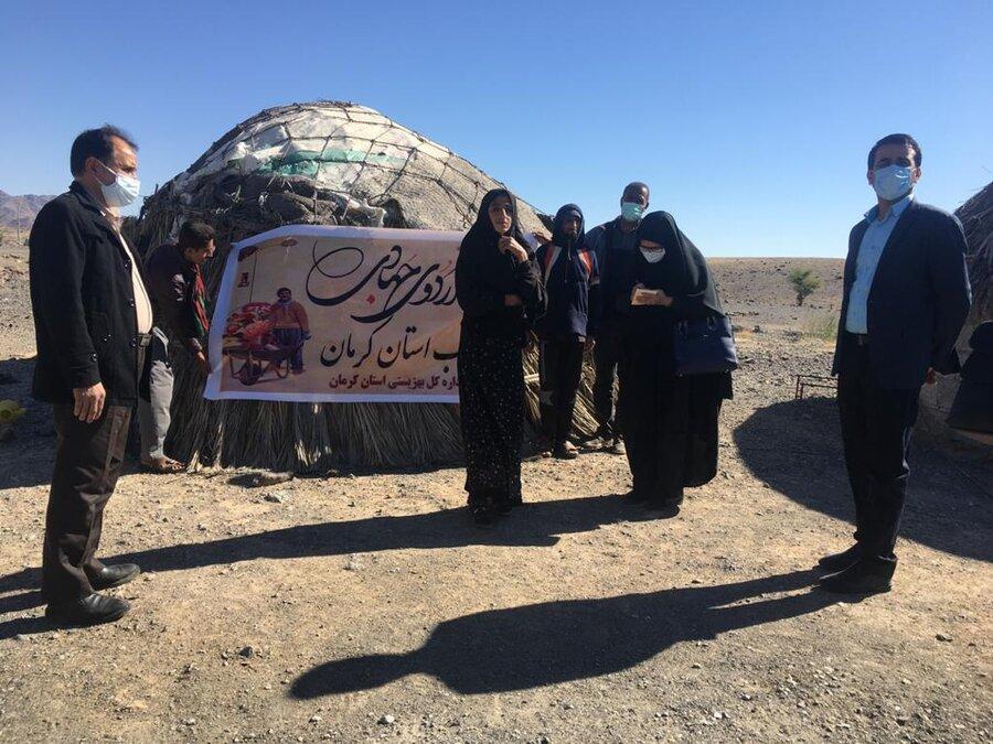 بیش از یک میلیارد ریال کمک اردوی جهادی بهزیستی به مددجویان جنوب استان