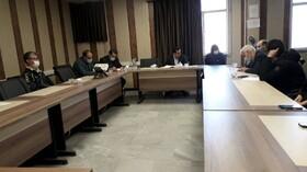 اسدآباد ا جلسه شورای اداری دربهزیستی  شهرستان
