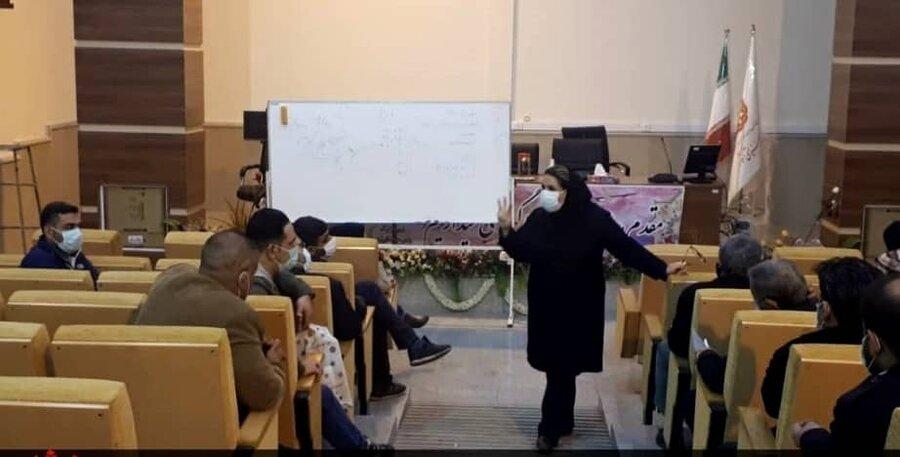 شهرری|برگزاری اولین جلسه آموزشی مراکز بهبود و بازتوانی