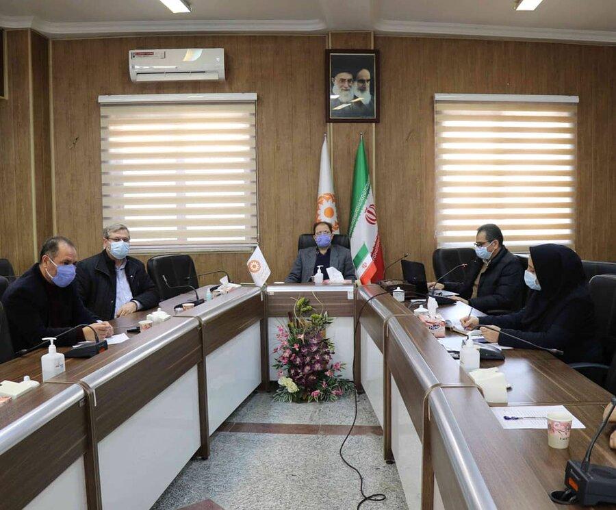 تشکیل دومین جلسه کارگروه فرعی تدوین برنامه هفتم توسعه در اداره کل بهزیستی آذربایجان غربی