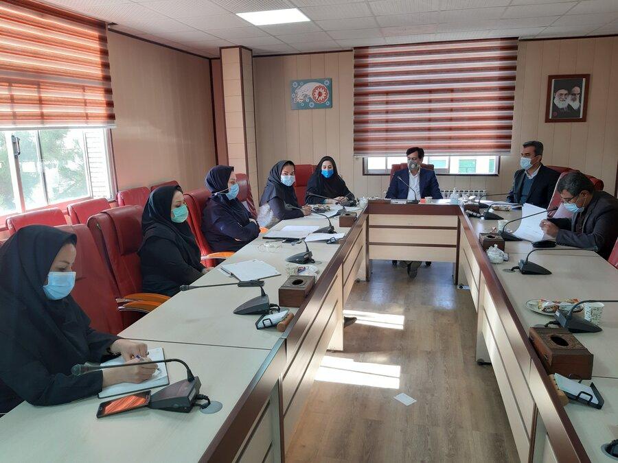 جلسه شورای اداری بهزیستی استان با محوریت مراکز مثبت زندگی برگزار شد