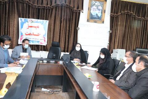 گزارش تصویری|سفر مدیرکل بهزیستی استان به شهرستان اردل