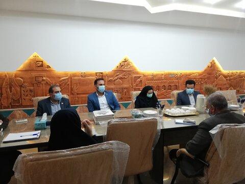 بازدید مدیرکل بهزیستی فارس و هیئت همراه از بنیاد هاشمی زاده شهرستان لار