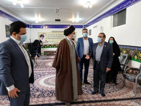 ملاقات مدیرکل بهزیستی فارس و هیئت همراه با امام جمعه شهرستان لار