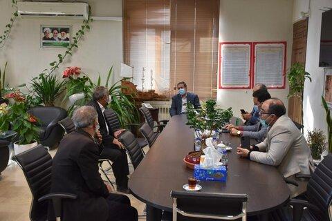 پاکدشت گزارش تصویری  سه شنبه های پاسخگویی در دفتر فرماندار