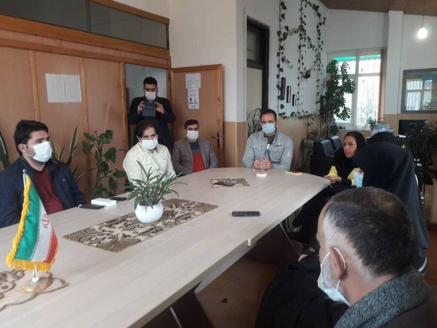 بابلسر | برگزاری جلسه مناسب سازی با مسولین شهری در اداره بهزیستی شهرستان بابلسر