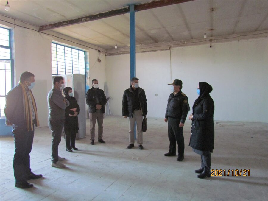 قوچان | اولین مرکز اقامتی ترک اعتیاد اجباری قوچان در دههی فجر بهرهبرداری میشود