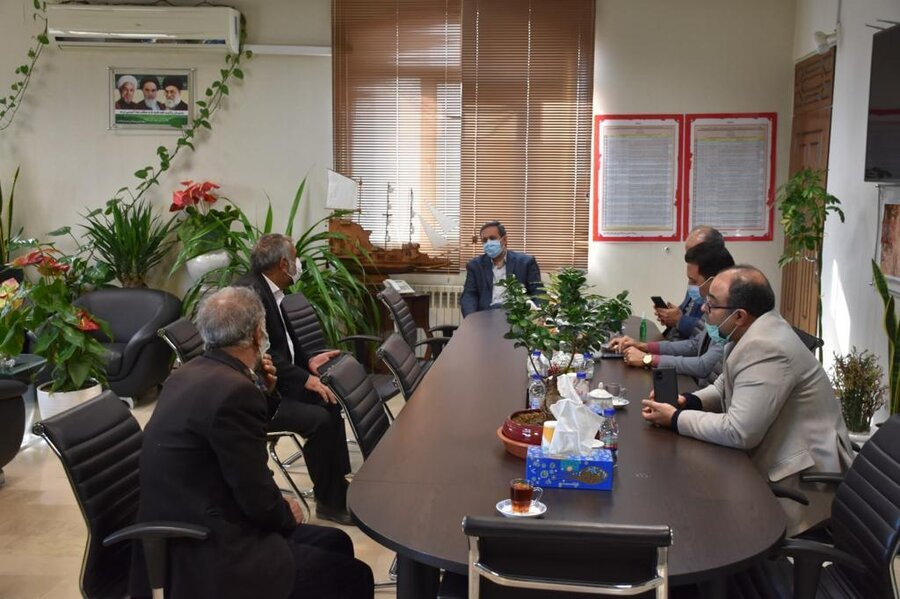 پاکدشت|گزارش تصویری| سه شنبه های پاسخگویی در دفتر فرماندار
