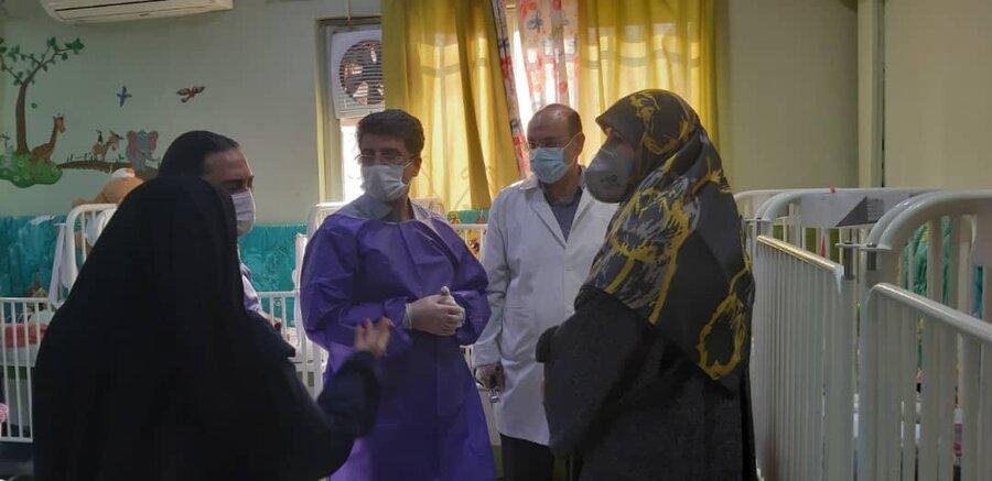 شمیرانات|گزارش تصویری| بازدید سرپرست بهزیستی شمیرانات از مرکز رفیده