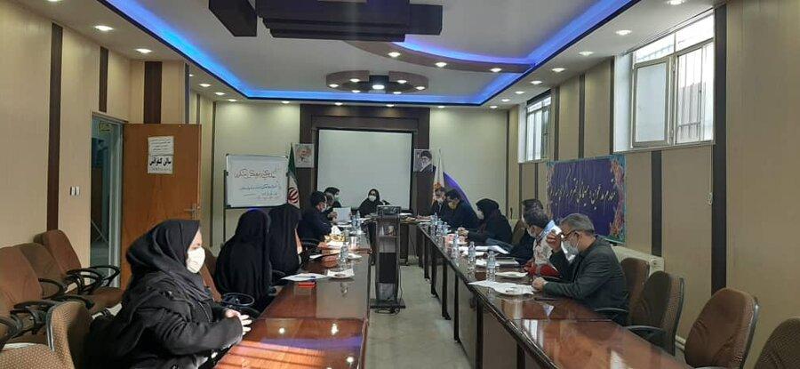 ورامین|گزارش تصویری|جلسه کمیته فرعی فرهنگی شورای هماهنگی مبارزه با مواد مخدر شهرستان