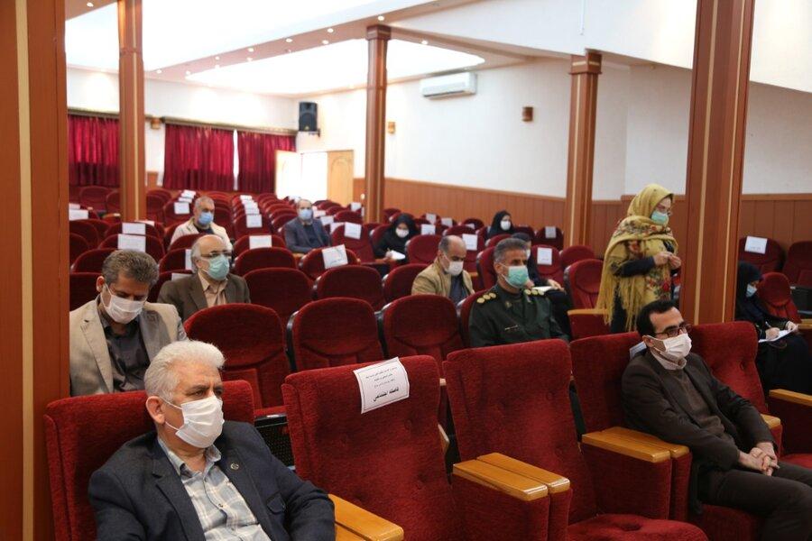 هفتمین جلسه کمیته فرهنگی شورای هماهنگی مبارزه با مواد مخدر استان مازندران برگزار شد