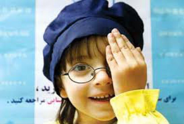 آرانوبیدگل| غربالگری بینایی۲ هزار کودک در آران و بیدگل / بینایی سنجی کودکان تا پایان بهمن ادامه دارد