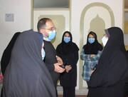 گزارش تصویری|بازدید معاون توسعه پیشگیری و درمان اعتیاد بهزیستی کشور از کمپ ترک اعتیاد بانوان ایلام
