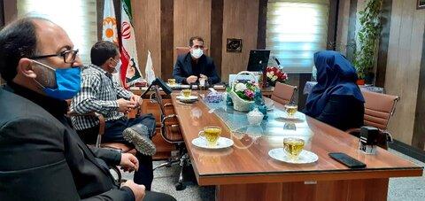 بهارستان| جلسه شورای معاونین بهزیستیشهرستان برگزار شد
