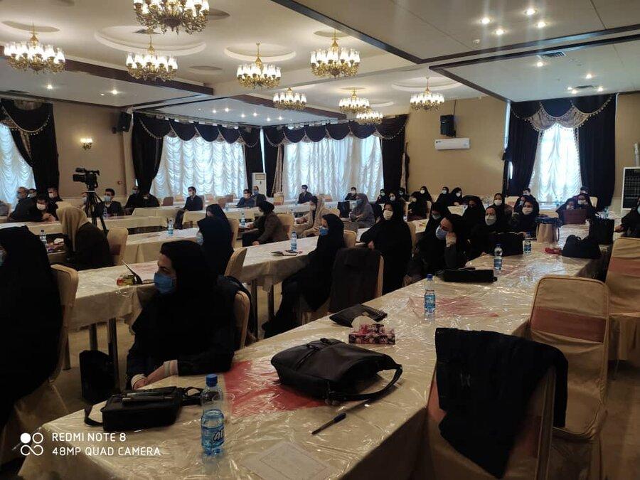 همایش علمی وآموزشی وتوانمند سازی مراکز مشاوره پیشگیری از طلاق در استان برگزار گردید