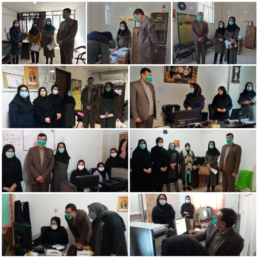 نظرآباد   بازدید سرزده رئیس بهزیستی شهرستان نظرآباد از مراکز مثبت زندگی