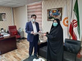 تقدیر مدیر کل بهزیستی استان از دبیر شورای اقامه نماز