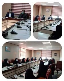 جلسه آموزشی ارزشیابی و نظارت بر مؤسسات غیر دولتی برگزار شد