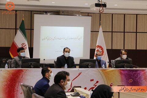 گزارش تصویری | آئین تکریم و معارفه رئیس حراست اداره کل بهزیستی گلستان